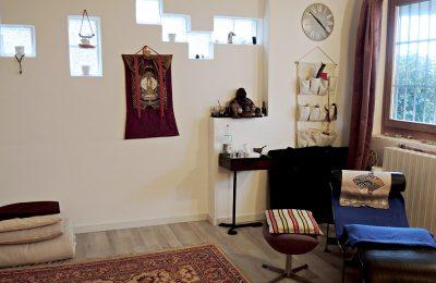 La sala meditazione